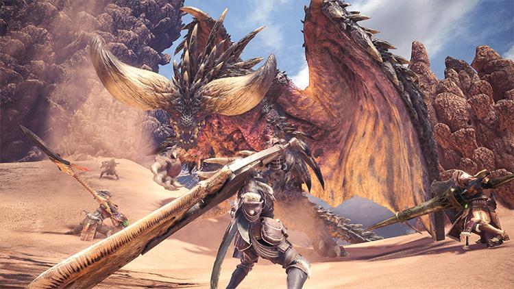 beste Game release van Januari 2018: Monster Hunter: World
